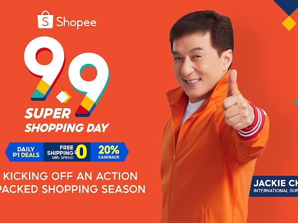 Shopee Kicks off the Most Action-Packed Year-End Shopping Season with 9.9 Super Shopping Day and International Superstar, Jackie Chan