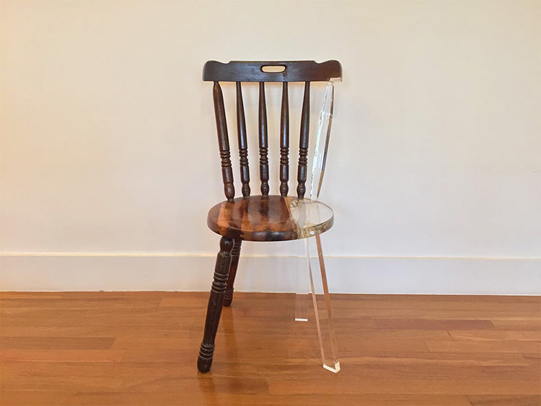 Mi nueva vieja silla: Artista