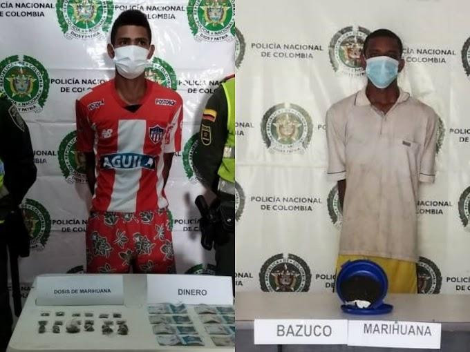 Capturados dos presuntos 'jíbaros' en Fundación y Algarrobo
