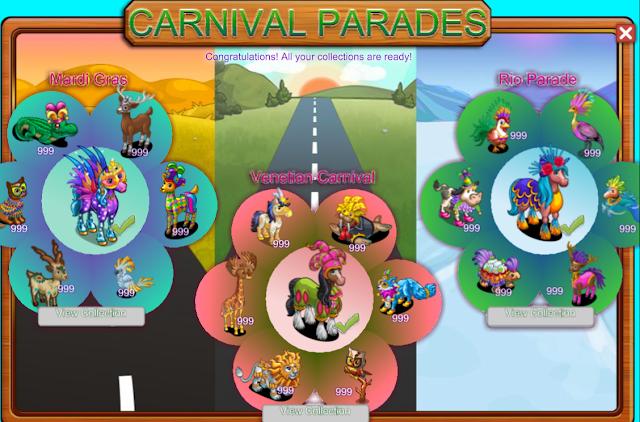 FarmVille Carnival Parade Complete Guide | Farmville Dirt Farmer