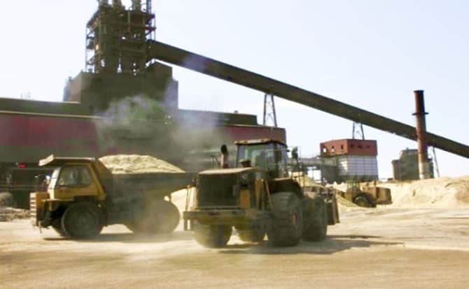 minero, maquinaria,