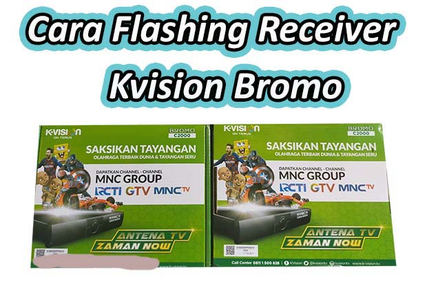 Solusi Mode On Receiver Kvision Bromo