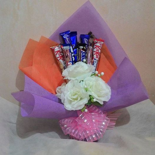 Mirza Simply Craft Coklat Bouquet Murah