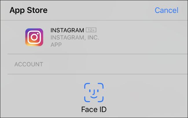 Face ID يطالبك بتثبيت تطبيق على iPhone XR.