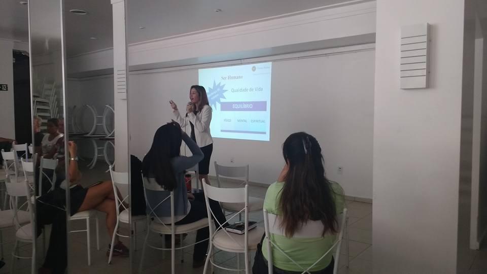 Viviane Moraes Palestra Motivacional Aos Colaboradores