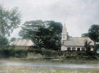 rumah dan gereja dari missionaris rheinische missiongesellschaft di siantar