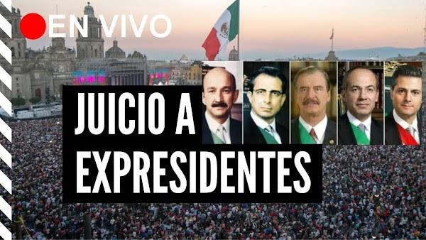 MORENA llama a participar en la Consulta para enjuiciar a los expresidentes ¿Estas de acuerdo?