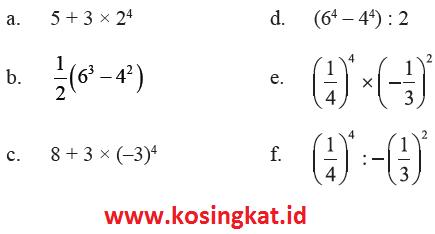 Langsung saja uraian serta kunci jawaban terlengkapnya berikut dibawah ini. Kunci Jawaban Matematika Kelas 9 Halaman 10 11 Latihan 1 1 Kosingkat