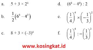 kunci jawaban matematika kelas 9 halaman 10, 11 latihan 1.1