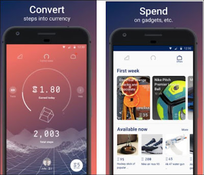Tập thể dục kiếm tiền với App Sweatcoin