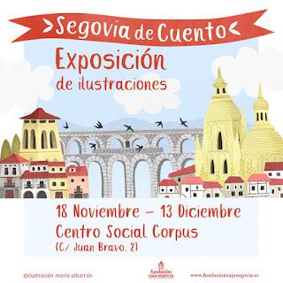 ilustraciones infantiles Segovia