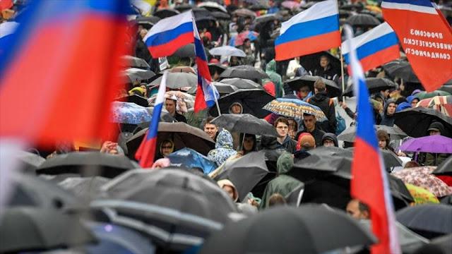 Rusia conmina a Google a no incitar a eventos ilegales en Moscú