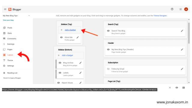 google blogspot layout design | blog design tips
