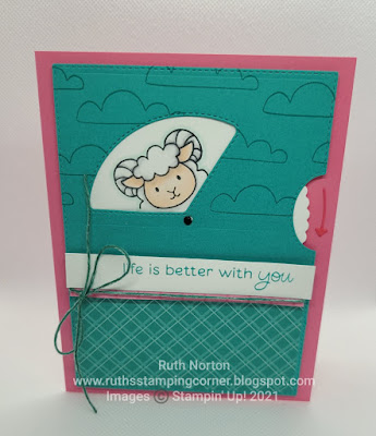stampin' up, peekaboo farm