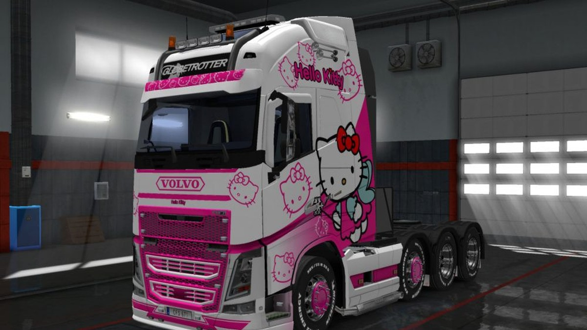 Volvo 2013 Hello Kitty Skin