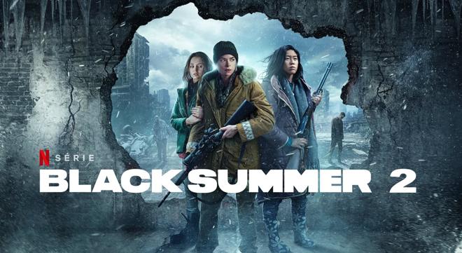 póster segunda temporada de black summer