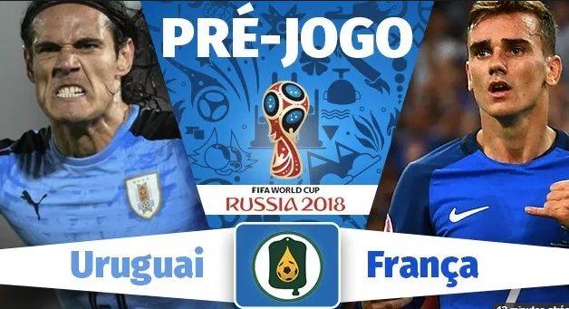 Assistir Jogo URUGUAI X FRANÇA AO VIVO pela Copa da Rússia