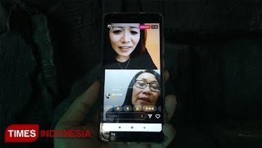 Times Indonesia : Ngobrol Santai #dirumahaja, Santysastra Ajak Warganet Berpikir Positif