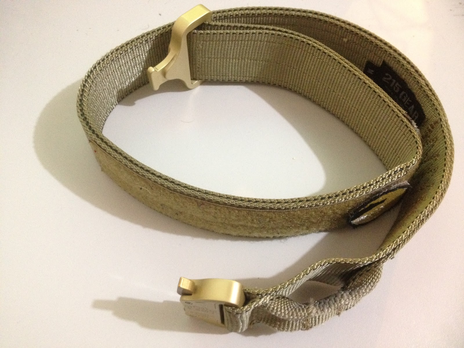 ApocalypseEquipped: Review: 215Gear Ultimate Riggers Belt