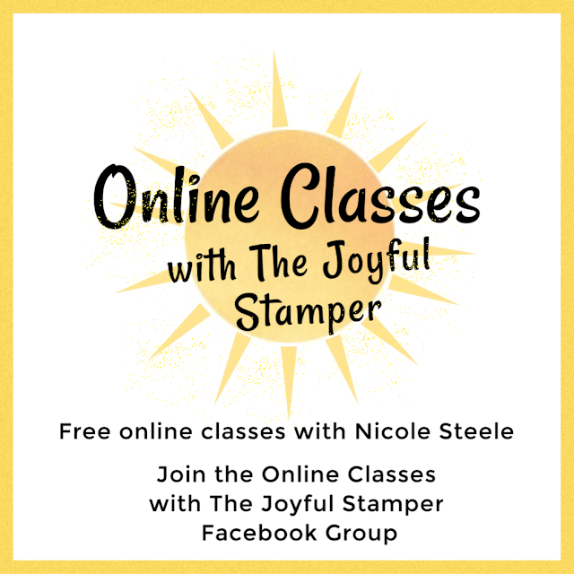 Online Classes with The Joyful Stamper Facebook Group | Stampin' Up! | Friend Like You | paper crafts | stamping