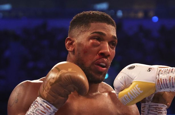 Anthony Joshua's face left battered and swollen after title loss to Oleksandr Usyk