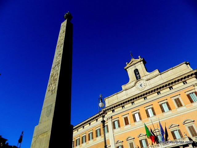Obelisco Montecitorio, Roma