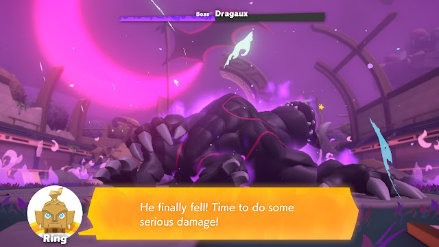 Ring Fit Adventure Dragaux fell collapsed World 33 boss battle