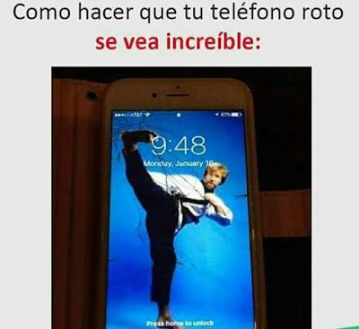 Cómo hacer que tu teléfono roto se vea increíble