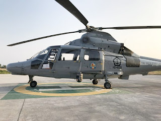Helikopter AKS AS565 MBe Panther Angkatan Laut