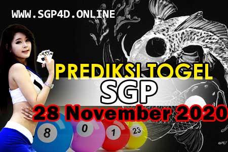 Prediksi Togel SGP 28 November 2020