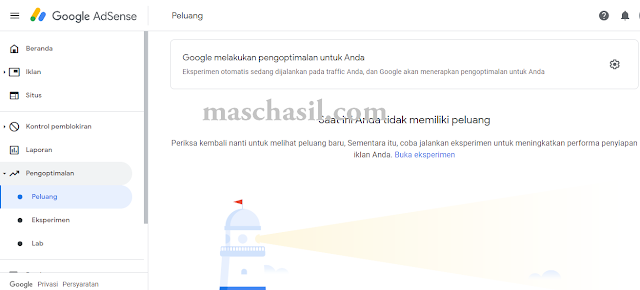 Mengoptimalkan Iklan Google Adsense