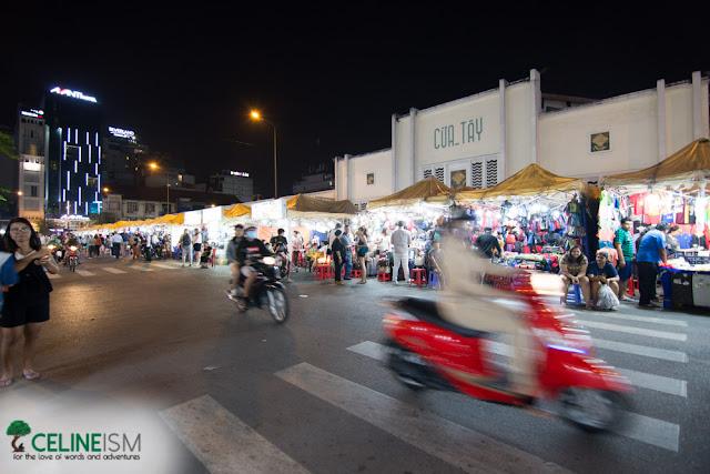 night market in ho chi minh