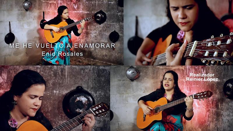 Enid Rosales - ¨Me he vuelto a enamorar¨ - Videoclip - Director: Reinier López. Portal Del Vídeo Clip Cubano