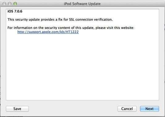 Jika Update iOs Tersedia Lanjutkan iTunes