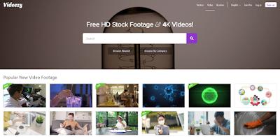 موقع Videezy