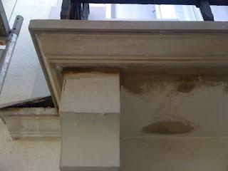 Sanierter Balkon Stuckgesims Belz Stuckateur