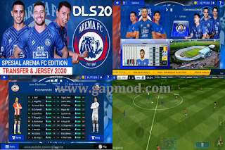 DLS 20 Spesial Arema Edition Shopee Liga 1 Indonesia Update 2020