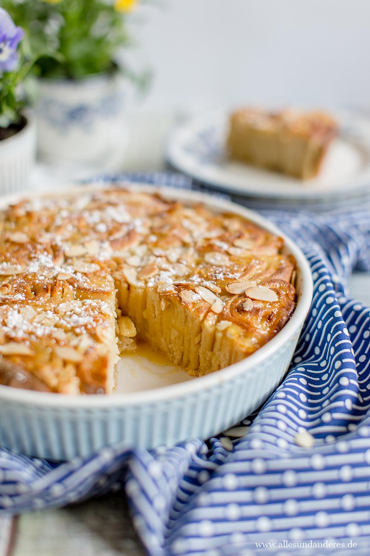 Hefeschnecken Kuchen Mit Selbstgemachtem Lemon Curd Alles Und Anderes