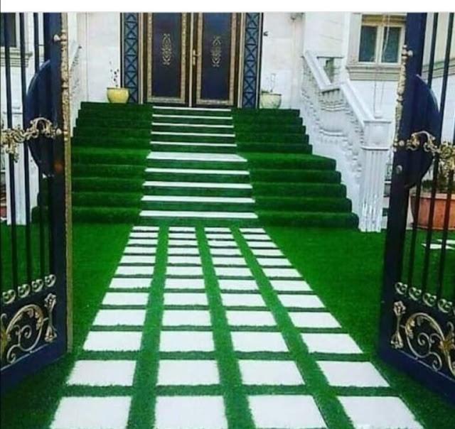 تركيب عشب جداري بالبحرين