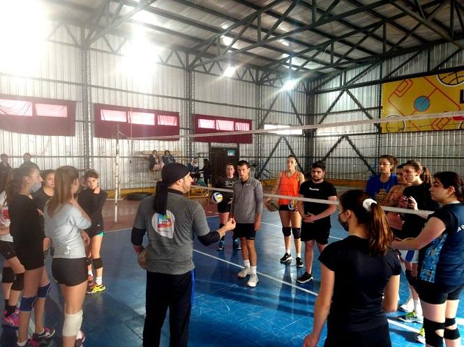 En Mendoza captaron jugadores para la selección argentina de Vóley