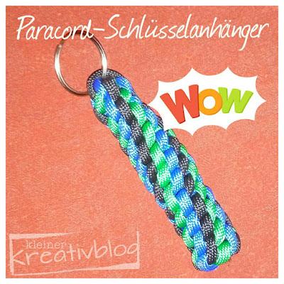 www.kleiner-kreativblog.de Paracord-Schlüsselanhänger
