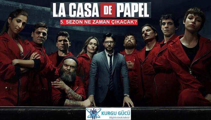 La Casa De Papel 5. Sezon Ne Zaman Çıkacak? - Kurgu Gücü
