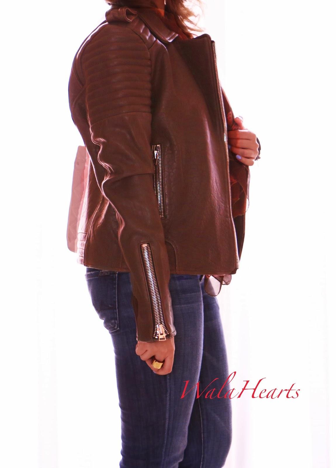 82c4bb95b OOTD: The Leather Jacket | WalaHearts | Bloglovin'