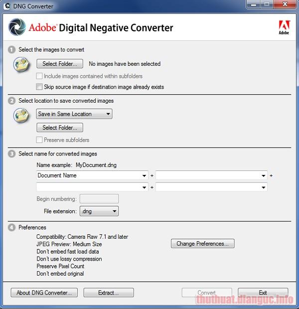 Download Adobe DNG Converter 11.4.1 Full Crack