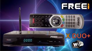 ATUALIZAÇÃO FREEI XDUO+ HD  V 3.50 - 27/08/2016