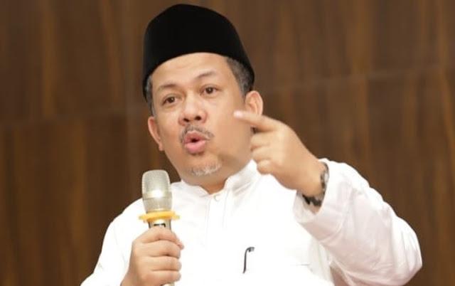Fahri Hamzah Menilai Ada Orang Sakit yang Menyerang Din Syamsuddin