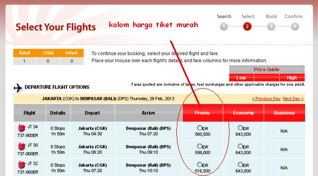 Tiket Murah Lion Air Lion Air Informasi Harga Tiket