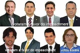 Resultado de imagem para 8 deputados do rn