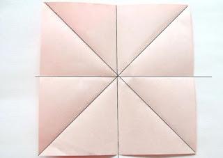 Hiasan Dinding Kelas Dari Kertas Origami