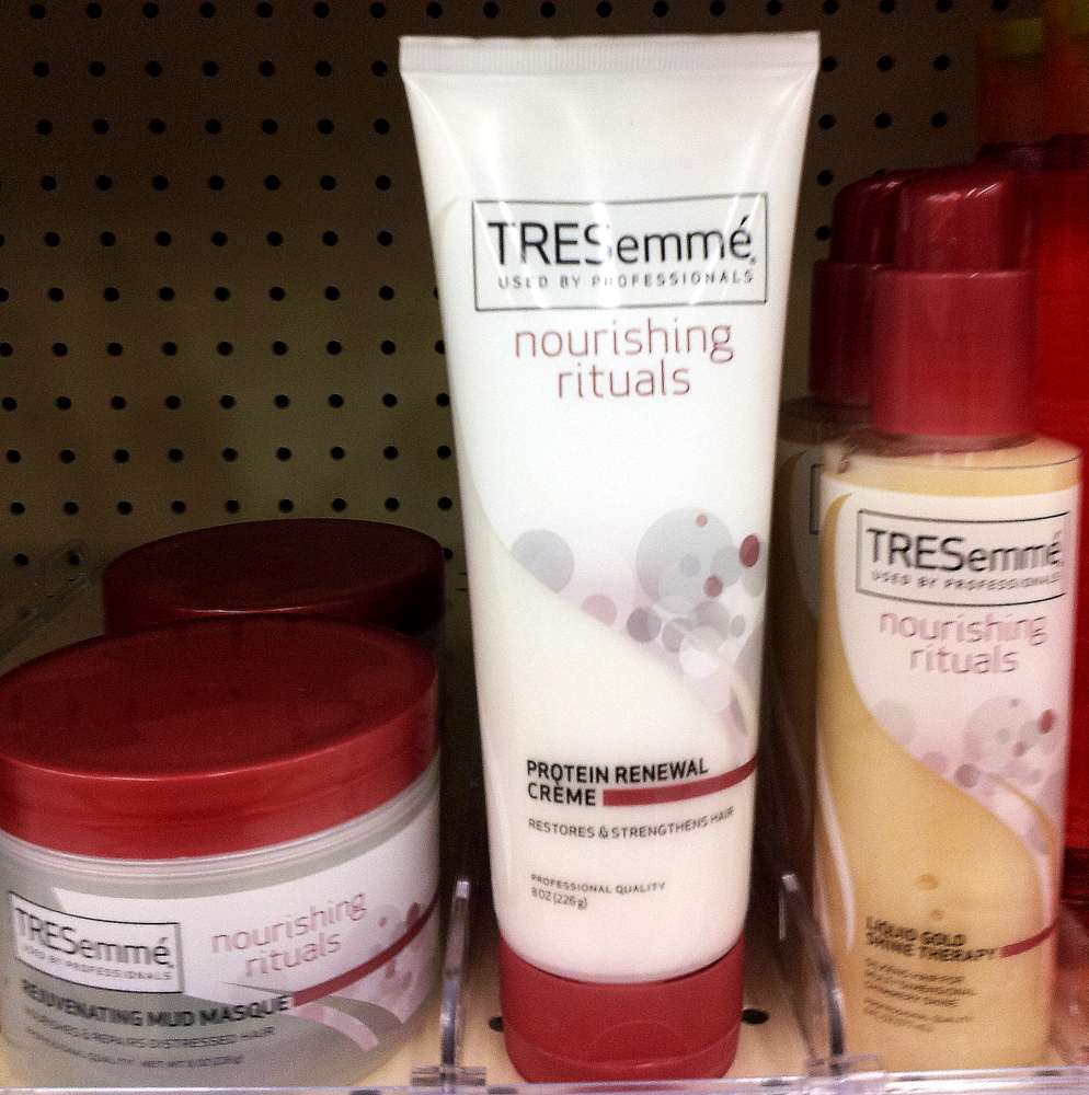 I Just Spotted A New Tresemme Line At Walgreens Today Called Nourishing Rituals